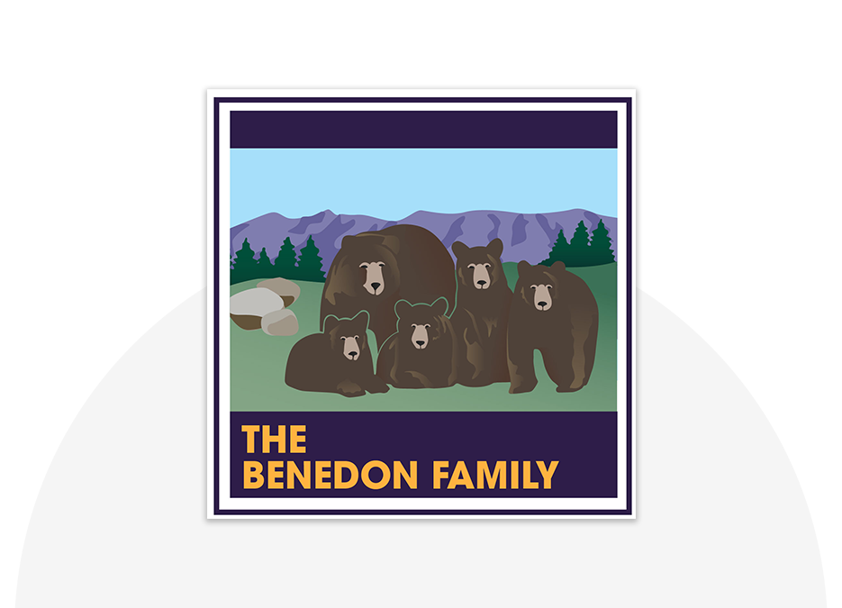 Benedon Family portfolio top image