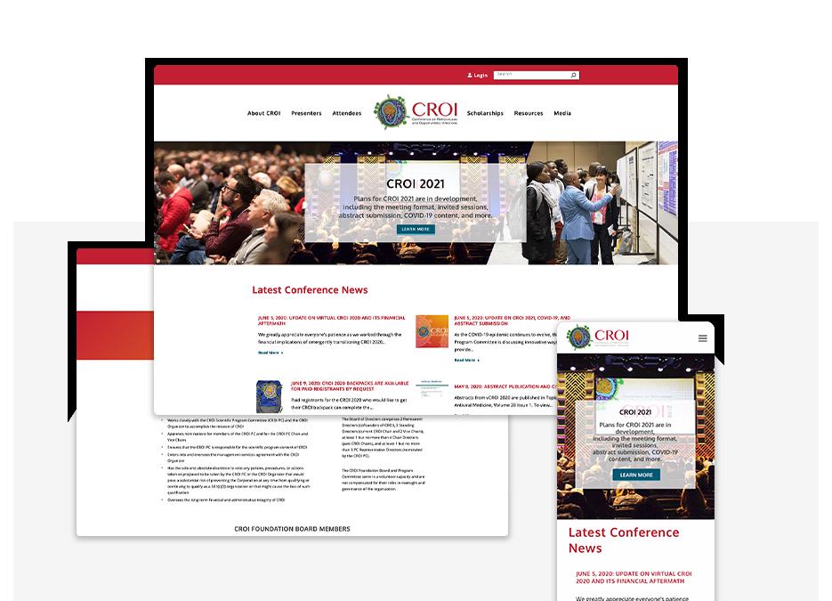 CROI Conference portfolio top image