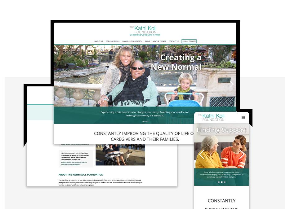 Kathi Koll Foundation portfolio top image