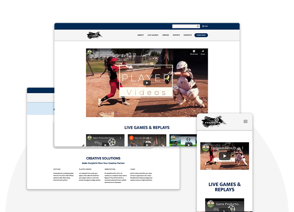 FastPitch Films Top Image